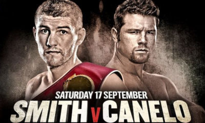 Beefy Smith has a tough challenge in Canelo