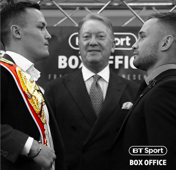 Warrington vs Frampton is a most anticipated bout, which takes place in England, and will screen in America on ESPN.