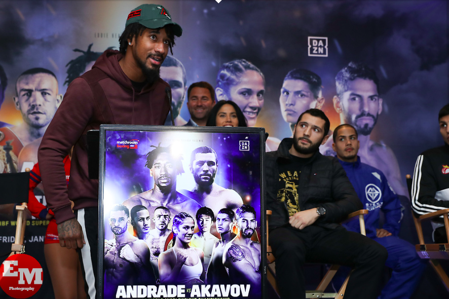 Demetrius Andrade headlines at the MSG Theater on Jan. 19.