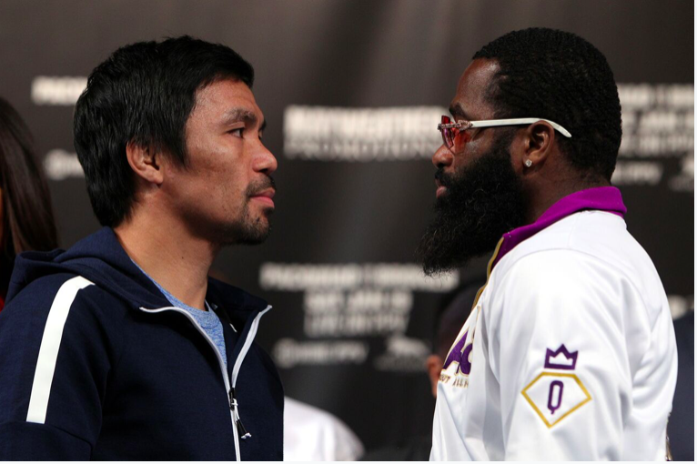 Pacquiao and Broner face off on Jan. 19, in Las Vegas, and on PPV.