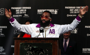 Adrien Broner often talks a better game than he brings to the ring, because he isn't busy enough in his fights.