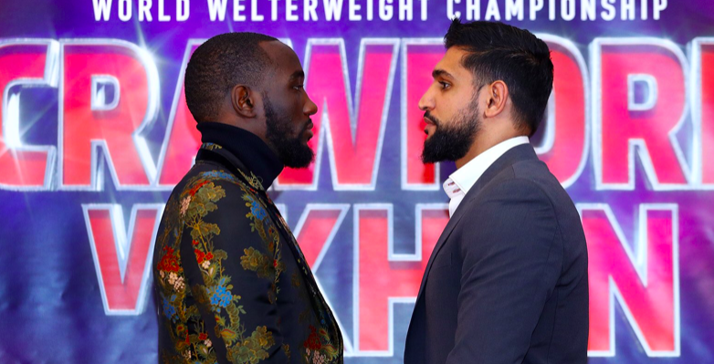 Terence Crawford will meet Amir Khan in April, on ESPN PPV.