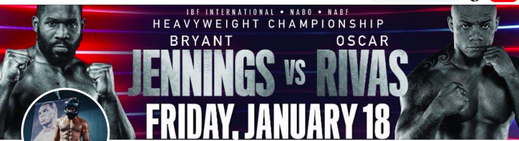 Bryant Jennings fights Oscar Rivas in upstate NY on Friday, Jan. 18.