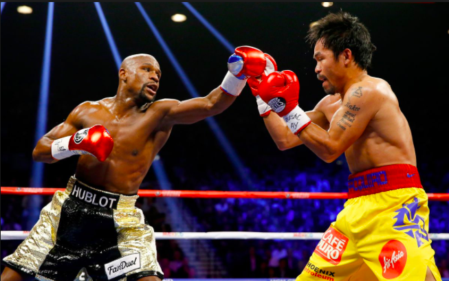 Manny Pacquiao didn't;t perform well against Floyd Mayweather in 2015...Hamza doesn't want to see a sequel.