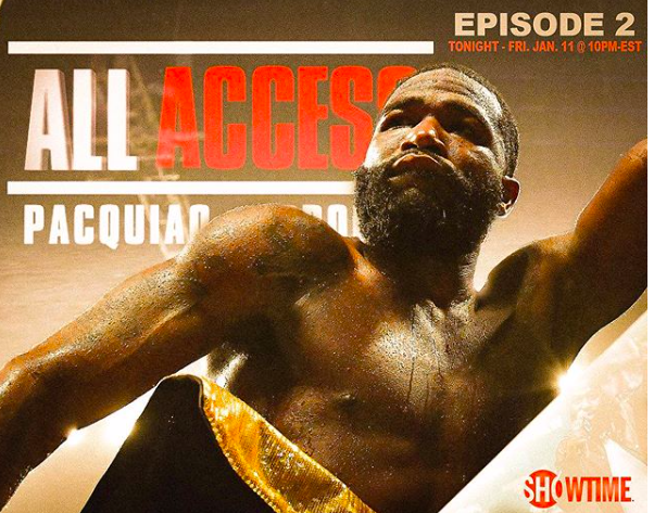 Adrien Broner has been featured on the All Access show, leading up to his Jan. 19, 2019 fight against Manny Pacquiao.