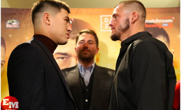 Dmitriy Bivol faces off with Joe Smith on Jan. 18 at MSG Theater, ahead of their March 9 clash.