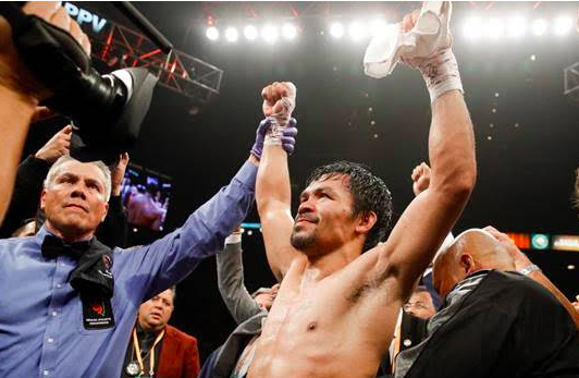 Showtime will screen the Pacquiao-Broner bout this Saturday.