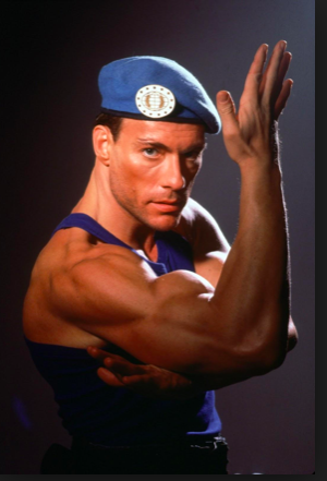 David Papot watched Van Damme and that got him started in the world of fighting.