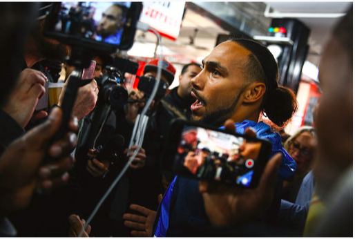 Keith Thurman said he is over the moon at coming back to boxing.
