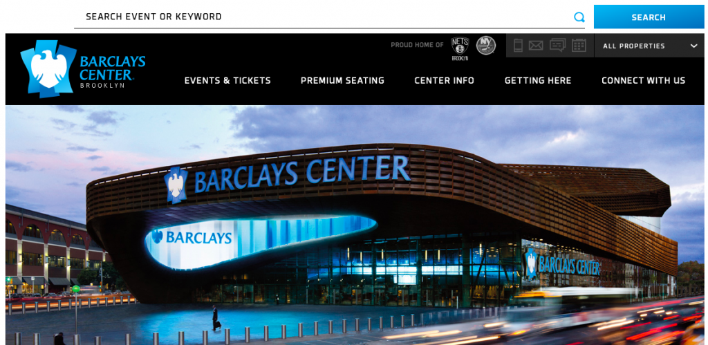 Boxing will be at Barclays Center Oct 16.