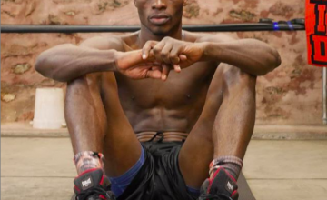 Richard Commey of Ghana fights Saturday, for a IBF belt.