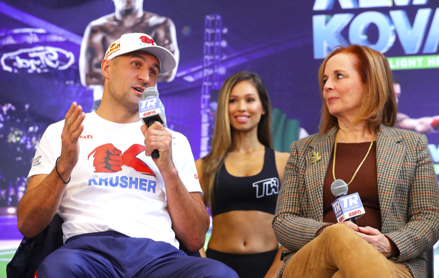 Sergey Kovalev fights Eleider Alvarez in a rematch to their August 2018 face-off.