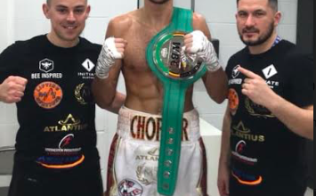 Kieran Smith fights March 22 and is craving a big time title shot.