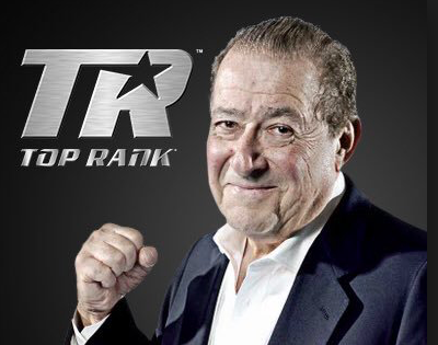 Bob Arum and Top Rank present boxing on Sunday, Feb. 10 in Fresno.