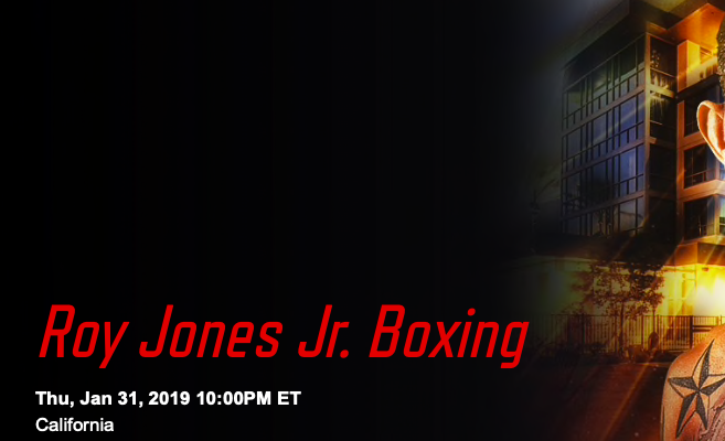 Ringside Report: Roy Jones Jr Boxing on UFC Fight Pass - NY FIGHTS
