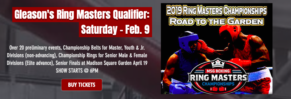 Watch amateur boxing on Saturday, Feb. 9 at Madison Square Garden, as part of the RingMasters Championships.