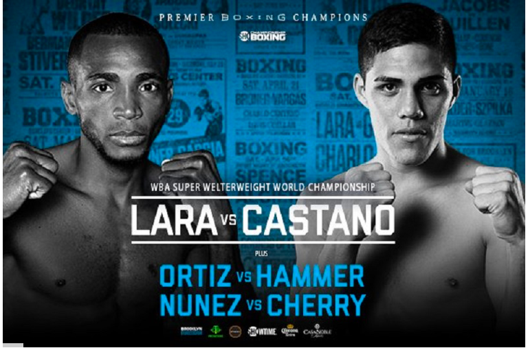 The WBA 154 pound crown will be up for grabs when Erislandy Lara fights Brian Castano March 2 at Barclay's Center.