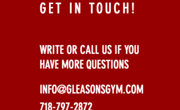 Gleason's Gym in Brooklyn, NY is world famous.