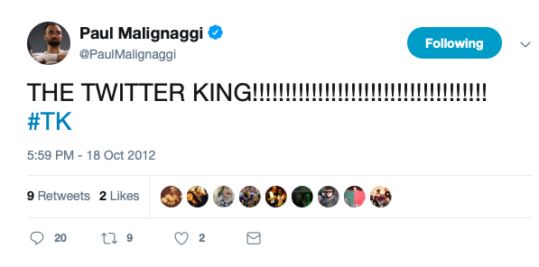 Paul Malignaggi handled social media quite well back around 2012..he chatted with fans and took on haters, and built his buzz.