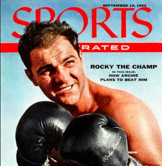 Rocky Marciano was a Masshole to the end.