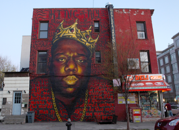 """NOTORIOUS BIG ruled rap from a Brooklyn perch, and we wonder if """"Big Baby"""" Miller could gain the upset and do the same in heavyweight boxing?"""
