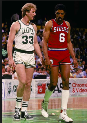 THE SHORTS USED TO BE TOO TIGHT ON NBA PLAYERS.