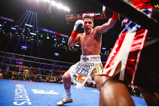 Brian Castano fought neck and neck with Erislandy Lara on March 2, 2019.