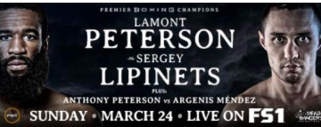Lamont and Anthony Peterson compete on the same card March 24, 2019.
