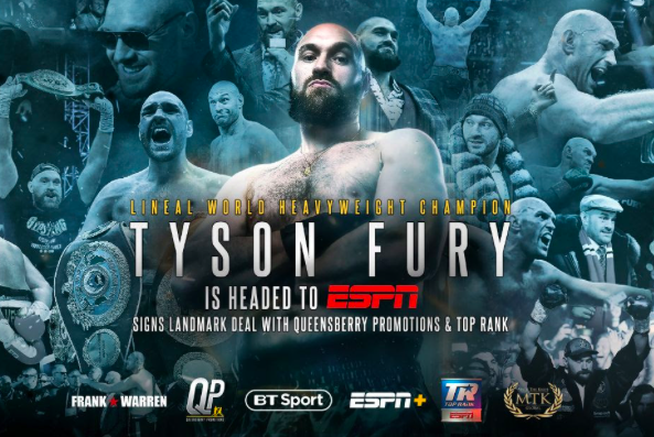 Tyson Fury signing with ESPN was the right move for him, Ahmed writes.