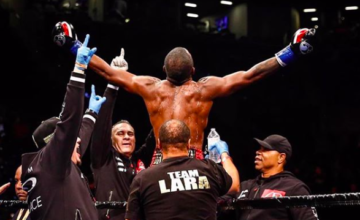 Erislandy Lara is thinking he'd like a rematch with Jarrett Hurd.