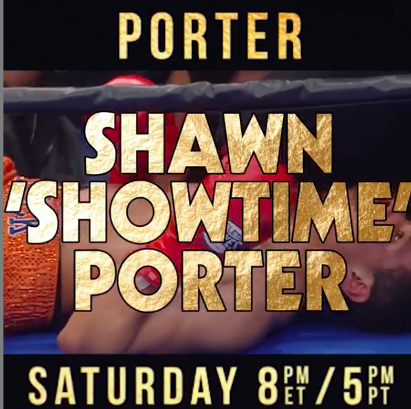 Shawn Porter needed extra time to make weight but is now, presumably, ready to rock against Yordenis Ugas.