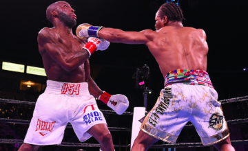 Shawn Porter and Yordenis Ugas fought March 9 and the action was close.