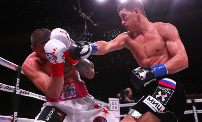 Bivol handily defeated Smith March 9, 2019 at Verona, in NY, and on DAZN.