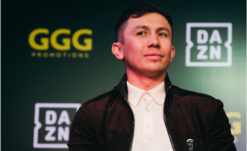 Golovkin signed a six fight deal with DAZN.