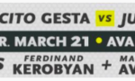 Mercito Gesta headlines a new Golden Boy series on March 21, 2019.