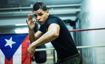 Edgar Berlanga, 9-0 with first round KOs, has signed on with Top Rank.