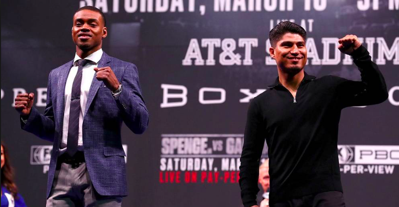 Errol Spence might prove too big and strong for Mikey Garcia when they fight March 16, 2019.