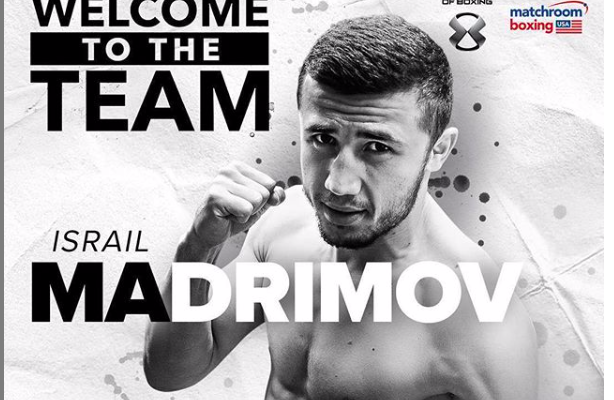 Israil Madromiv is 2-0 as a pro and his trainer thinks he could win a title in his next fight.
