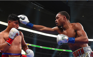 Errol Spence dominated Mikey Garcia in Texas on March 16, 2019.