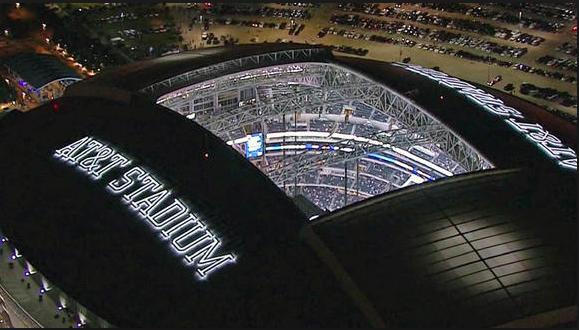 AT&T Stadium in Arlington Texas is a site to behold.