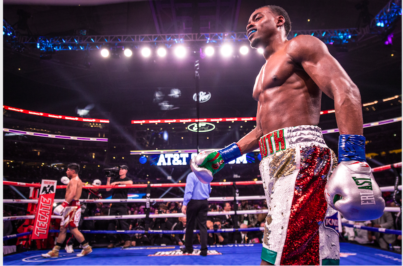 Errol Spence had a chip on his shoulder and took it out on Mikey Garcia March 16, 2019. in Texas.