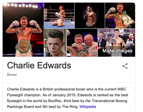 Edwards is under the radar at flyweight among fans in America.