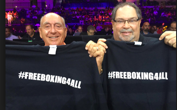 The PBC ran with a #FreeBoxing4All theme for awhile.