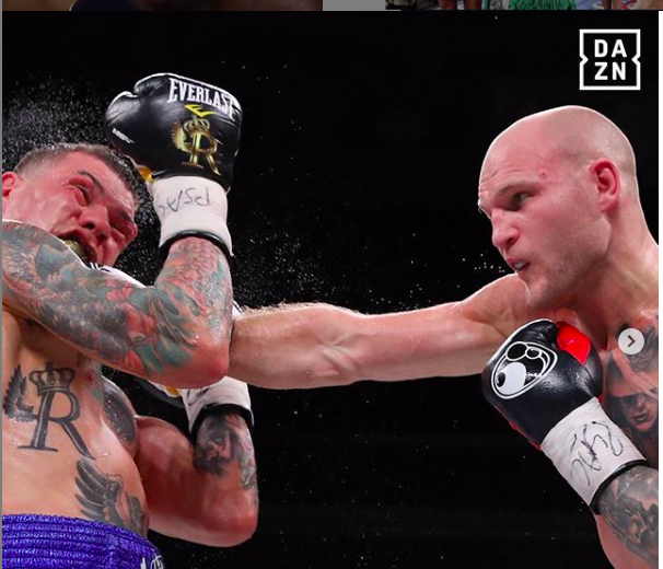 Rosado showed the never give up attitude that we so prize in pugilism.