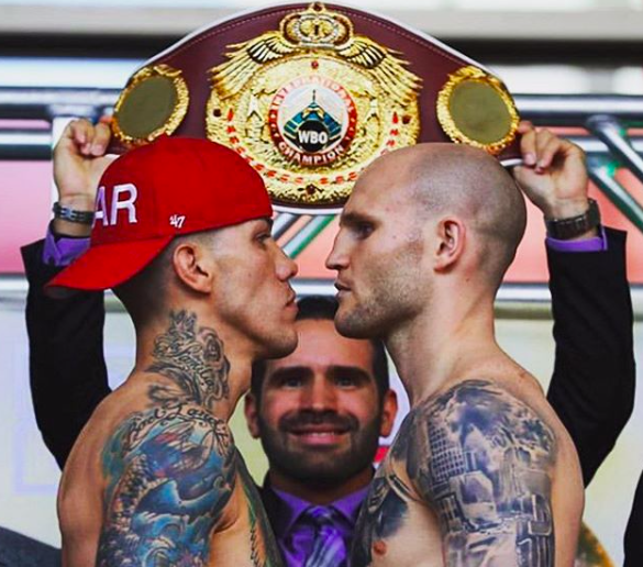 Rosado roared back and almost scored a very improbable upset..and reminded the writer of the best of the sport.
