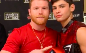 Ryan Garcia is now under the wing of Canelo.