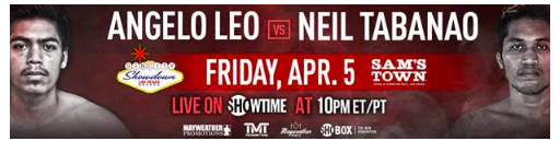 Mayweather Promotions runs a show on Friday, April 5, 2019.