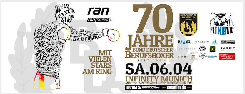 The 70th anniversary of professional boxing in Germany and NYFights' Jab Hook is reporting on this international boxing event presented by Petkovic Boxing Promotion.