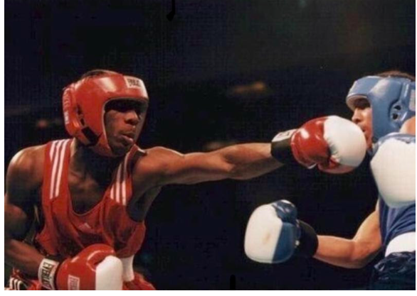 Eric Kelly was an amateur standout but his boxing path was re-directed when his eye was busted by a pool cue.
