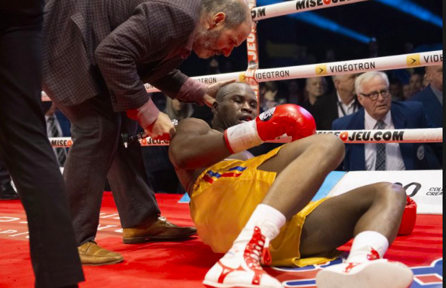 Oleksandr Gvozdyk won the crown but had to deal with knowing his punches almost killed his foe.